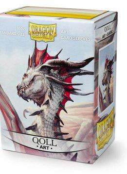 Dragon Shield Art Sleeves - Qoll