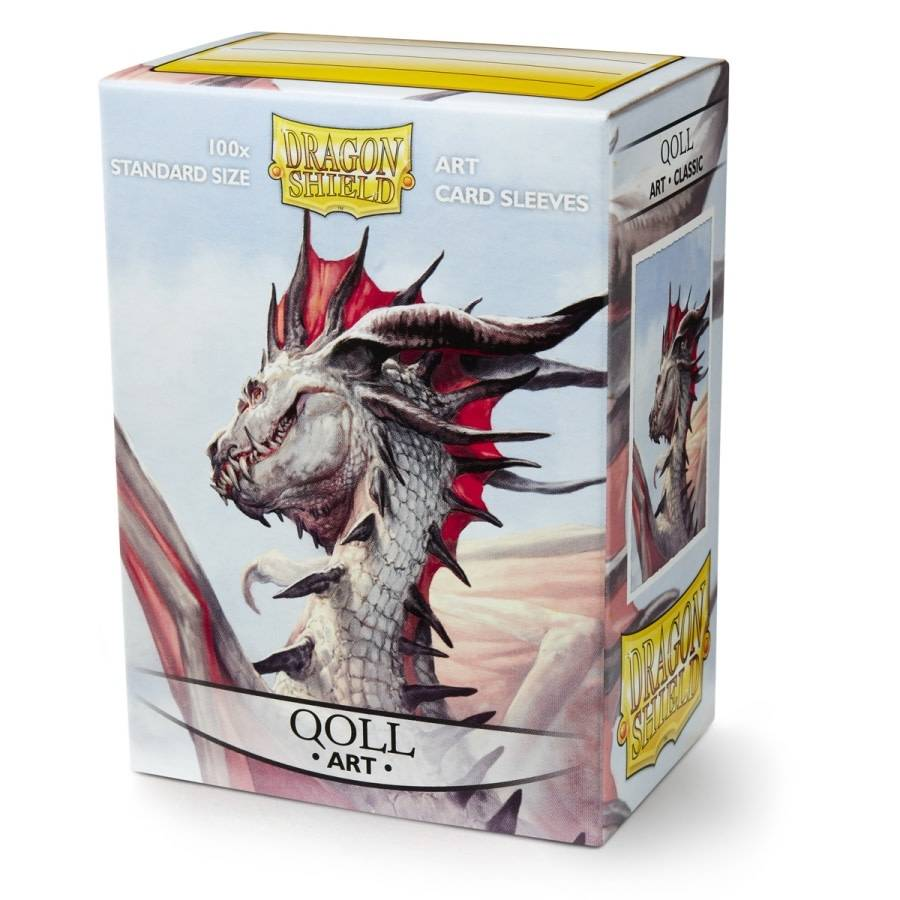Dragon Shield Art Sleeves - Qoll