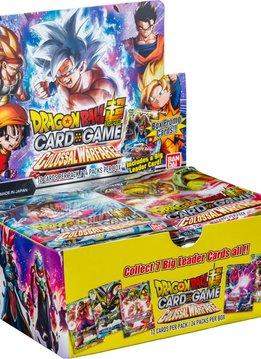 Dragon Ball Super Colossal Warfare Booster Box