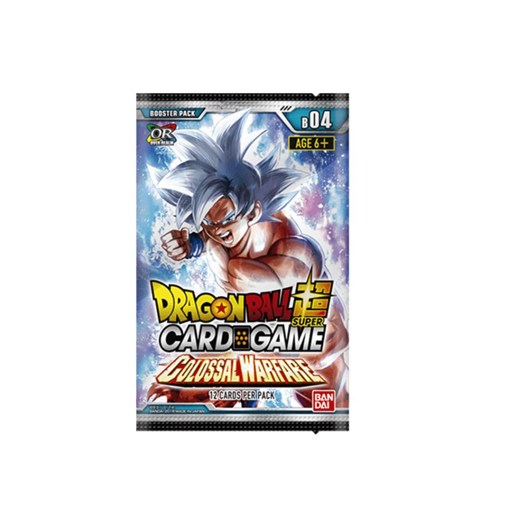 Dragon Ball Super Colossal Warfare Booster Pack