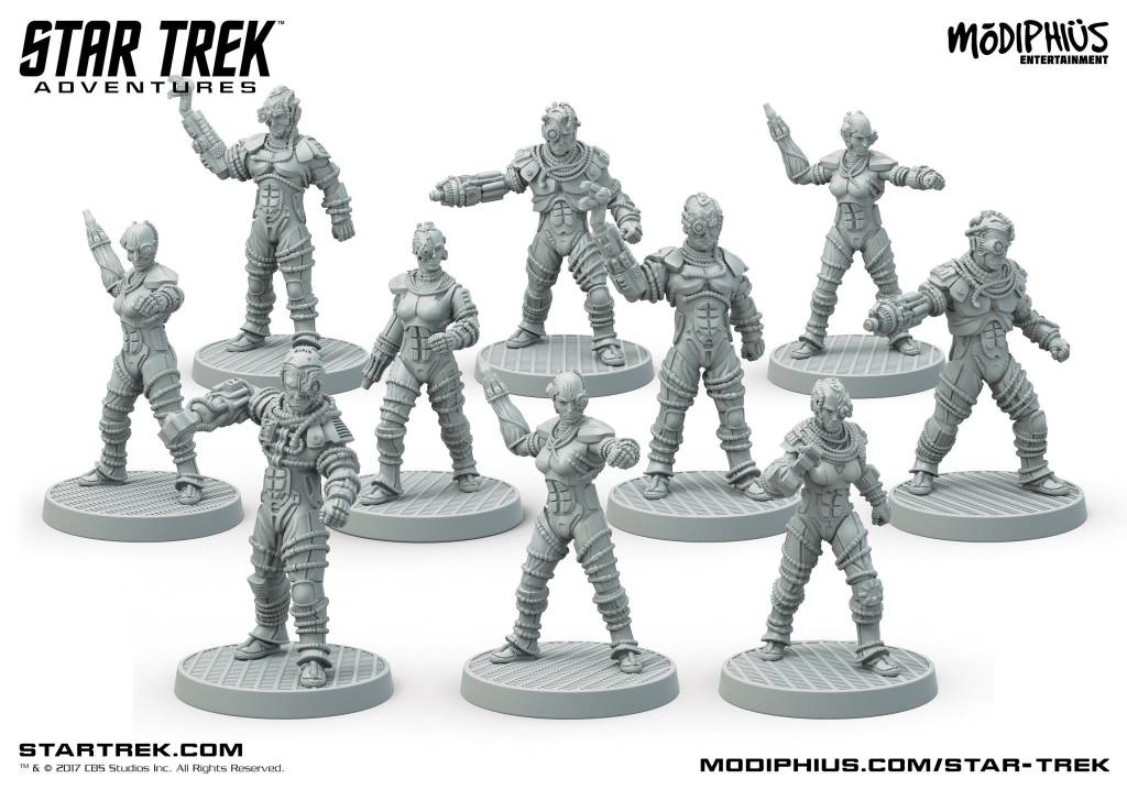 Star Trek Adventures - Borg Collective Minis