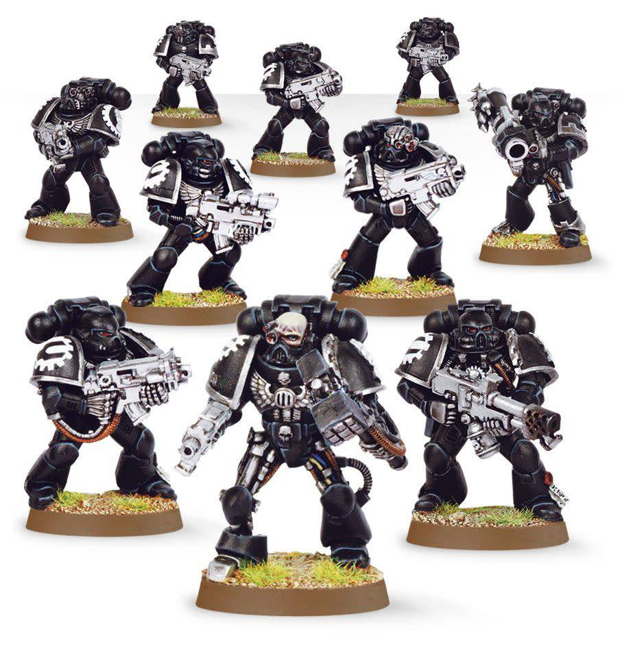 Iron Hands Tactical Squad Upgrade Pack (Web Exclusive)