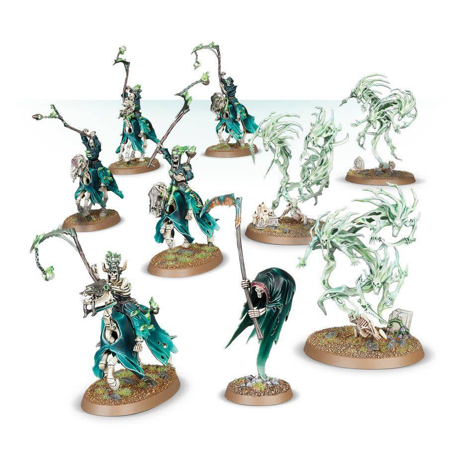 Warhammer Age of Sigmar: Death Nighthaunt Tormented Spirits