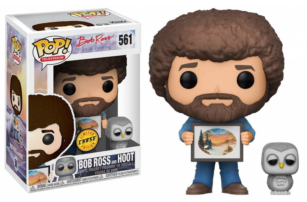 POP! Television : Bob Ross with Raccoon CHASE