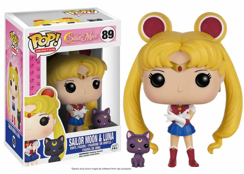 Pop! Sailor Moon & Luna