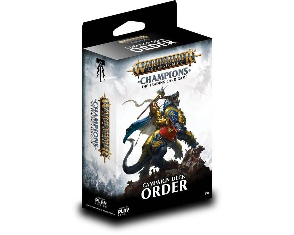 Age of Sigmar Champions - Order Campaign Deck
