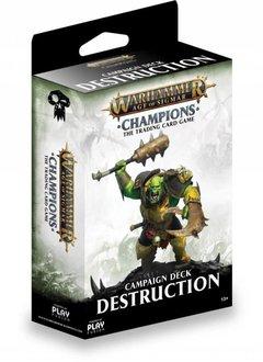 Age of Sigmar Champions - Destruction Campaign Deck