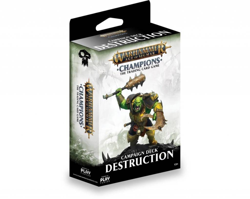 Age of Sigmar Champions - Destruction Campaign Deck