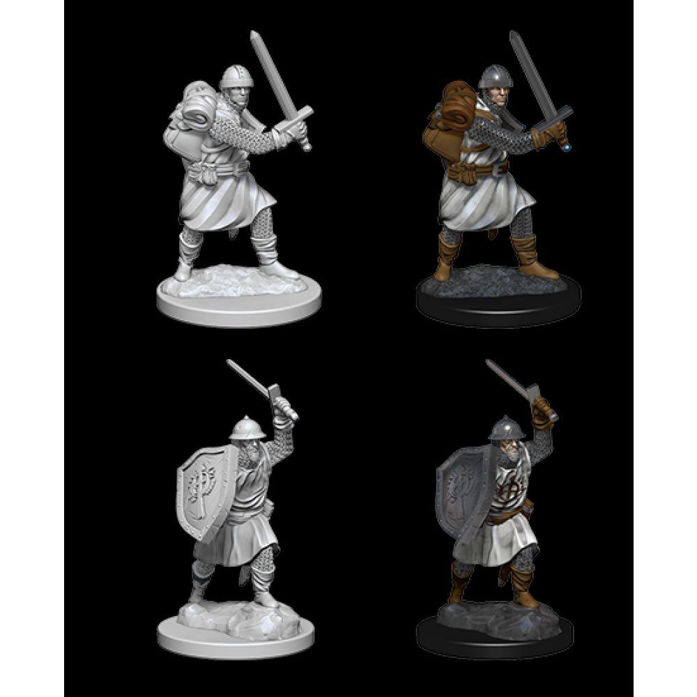 PF Unpainted Minis: Infantrymen