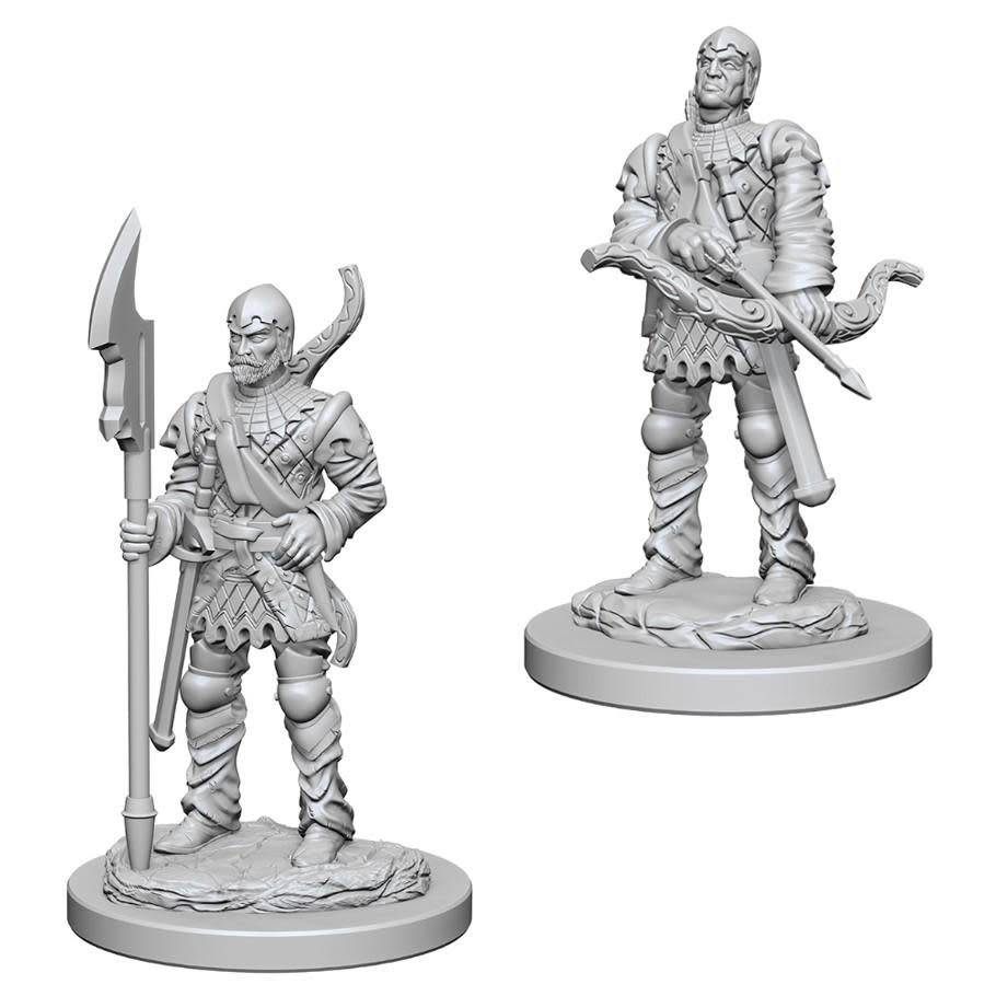 PF Unpainted Minis: Town Guards