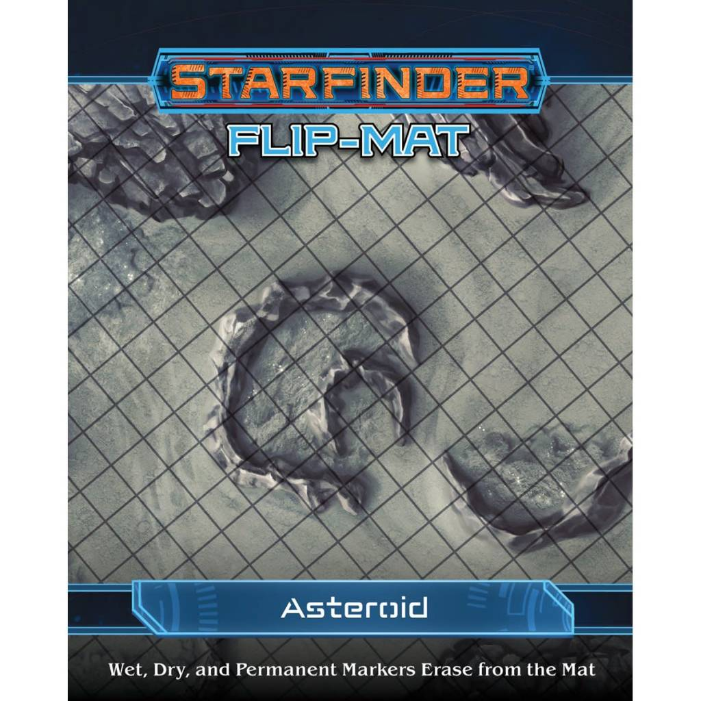 Starfinder Flip-Mat Asteroid