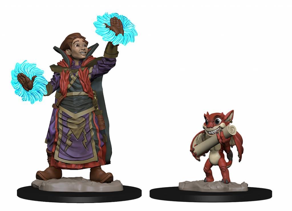 Boy Wizard and Imp Wardlings