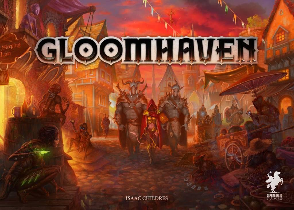 Gloomhaven (Boite endommagée)