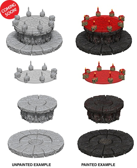 D&D Unpainted Minis: Magic Dais