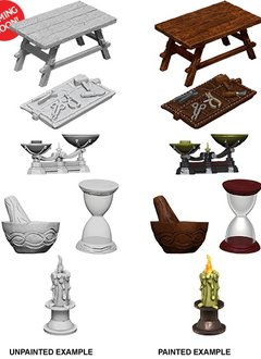 D&D Unpainted Minis: Workbench and Tools