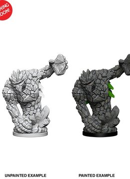 Pathfinder Unpainted Minis: Medium Earth Elemental