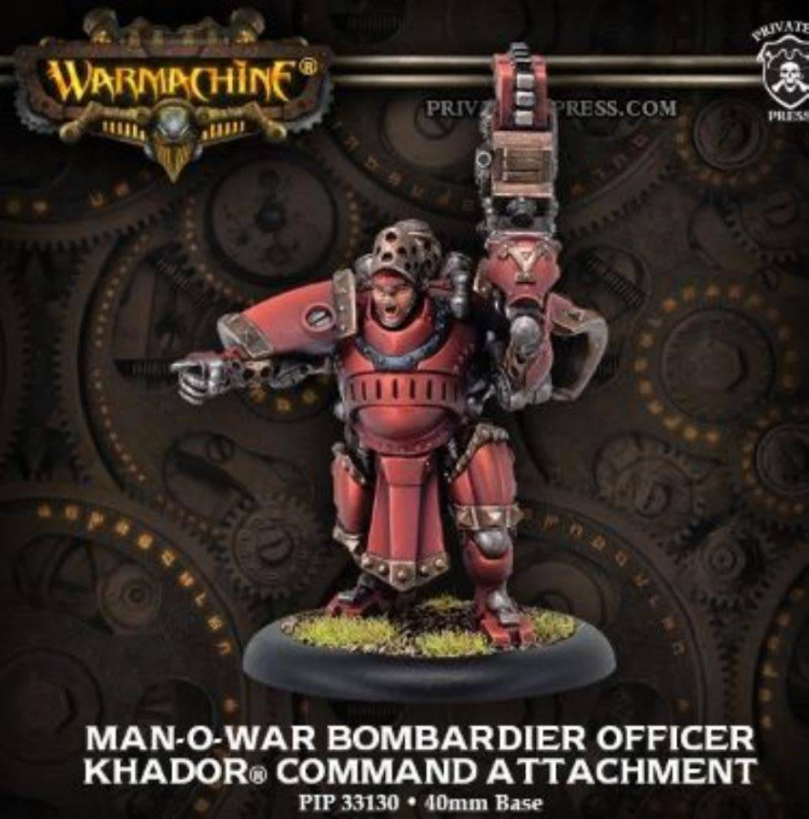 KHADOR MAN-O-WAR BOBMARDIER OFFICER CMD ATTACH BLI