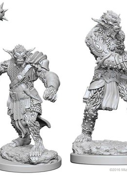 DND Unpainted Minis: Bugbears