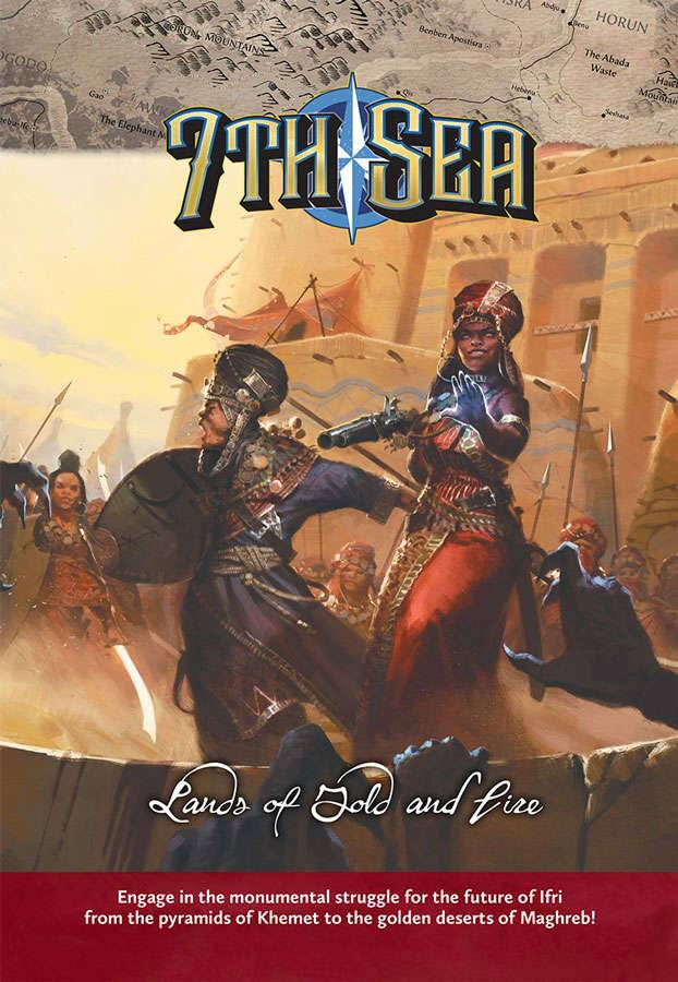 7th Sea Lands of Gold and Fire