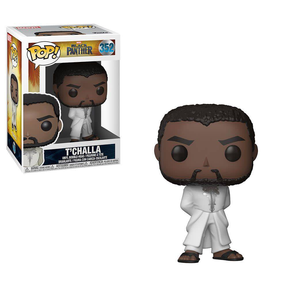 Pop! Black Panther White Robe