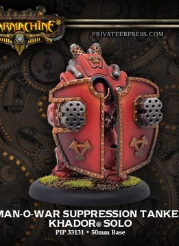 Khador Man-O-War Suppression Tanker Solo Box