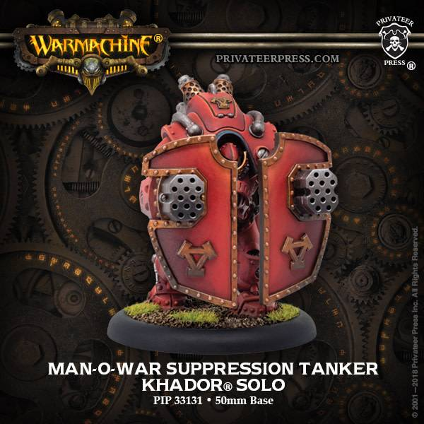Khador Man-O-War Suppression Tanker Solo Box