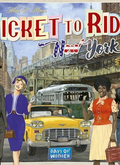 Les Aventuriers du Rail New York 1960
