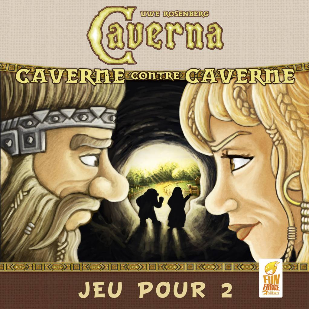 Caverna: Cave vs Cave 2 Joueurs FR