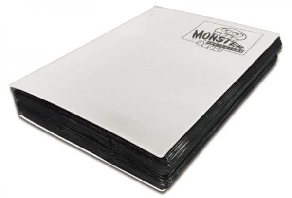 18 Pocket Mega Monster White