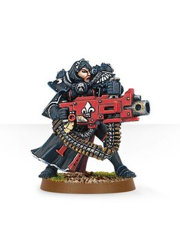 Battle sisters w/heavy bolter