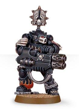 Damned Legionnaire with Multi Melta