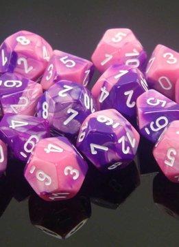 26255 10D10 Pink-Purple w/white