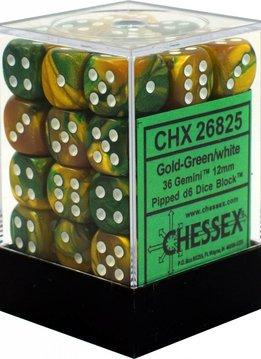 26825 Gold Green White 36d6