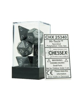 25340: hi-tech speckled 7 dice