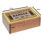 Winchester AMMO BOX Winchester Vintage Wooden Box Ranger 279mm X 178mm