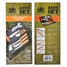 Guerrilla Knives KNI- Buffalo Knife Set