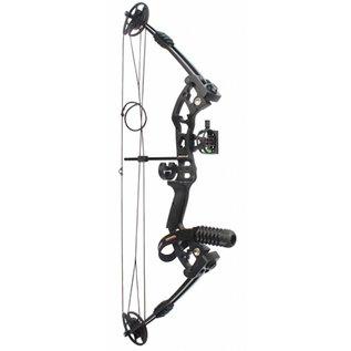 SR Archery Compound Bow SR Archery Fuzion34 Kit 55# Right Hand Black