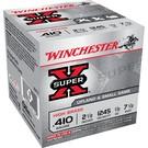 """Winchester AMMO 410 Winchester Super X 2-1/2"""" 7 1/2 shot (Box 25)"""