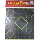"Redzone TGT 12"" Splatter Grid Target Green/Black (Box 5)"