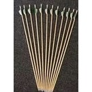 """EASTON TECHNICAL PRODUCTS Made Arrow wood Easton Feather 3"""" (Capt Point) EA"""