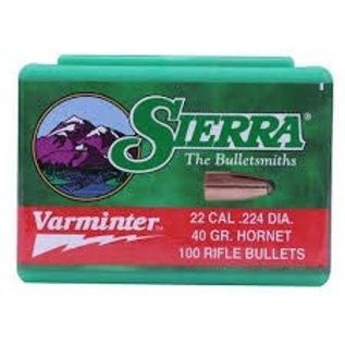 Sierra Bullet 22 Hornet Varminter Sierra 45Gr (Box 100)
