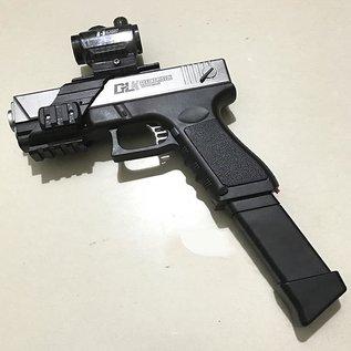 Gel Ball Gun Silver Glock