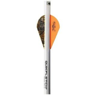 BOHNING CO LTD Vane Quick Fletch Neon Orange/Camo 3pk