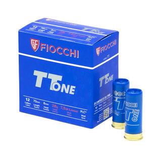 "Fiocchi AMMO 12G Lead Fiocchi Italy TT ONE 1300 7.5 2-3/4"" 28Gm (Box 250)"