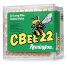 Remington AMMO 22LR Remington CBee22 33GR 740fps HP (100 BOX)