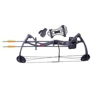 "crosman Compound bow Kit Crosman Wildhorn Youth Black 15-29Lbs 17""-26"""
