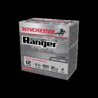 """Winchester AMMO 12G Lead Super Ranger 4 2-3/4"""" 1350 (Box 25)"""