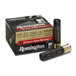"Remington AMMO 12g Rem Ultimate DEF.410ga 3"" 5 Pallet SG 000Buck 000 Buckshot (Box 15)"