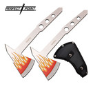 Perfect Point AXE-PP-120-2 Dual Throwing Axe Flame