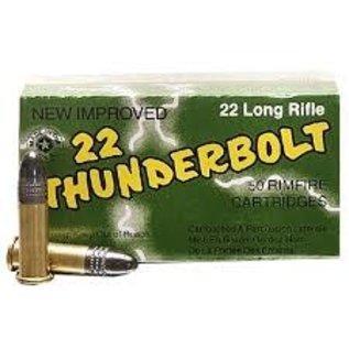 Remington AMMO 22LR Remington Thunderbolt HV Soild 40GR (50 BOX)